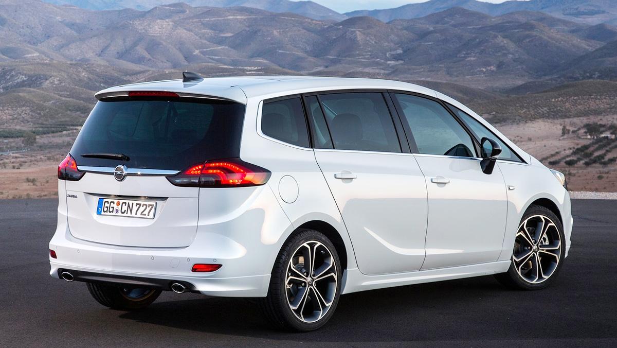 Los mejores coches de siete plazas que puedes comprar - Opel Zafira