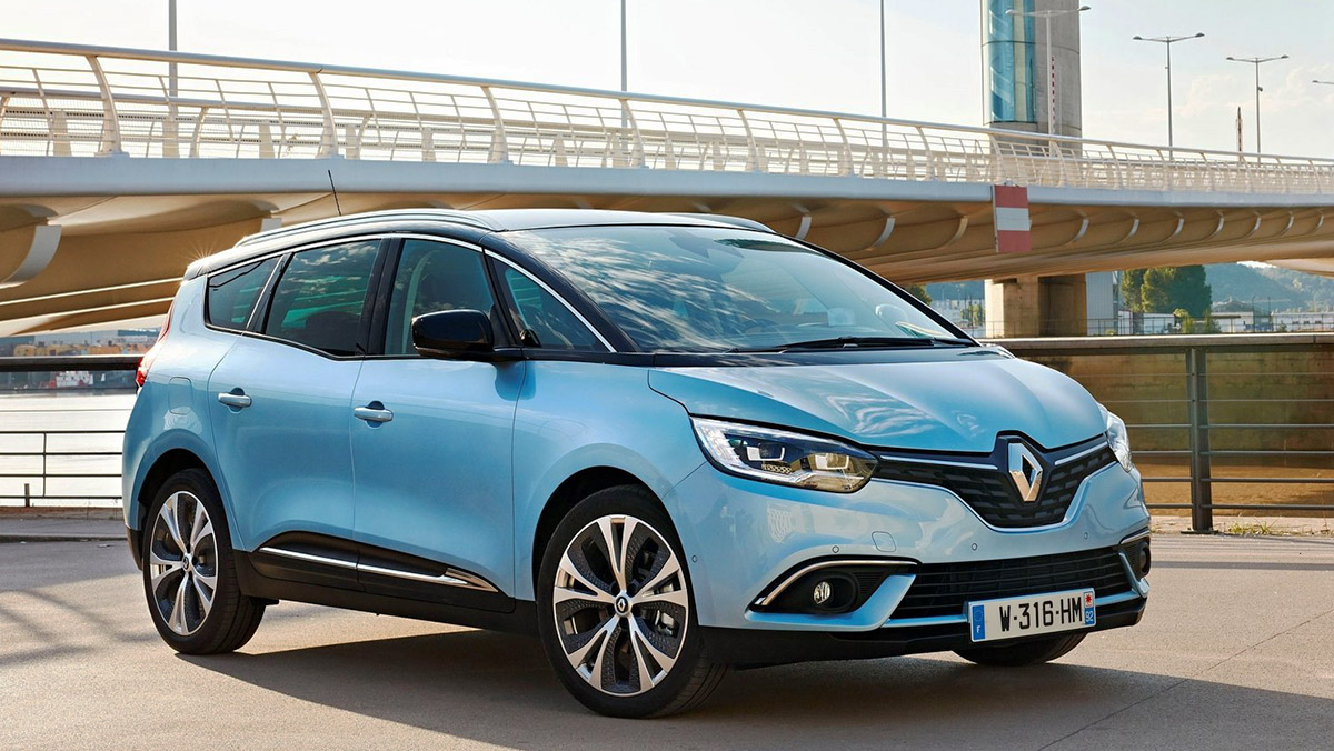 Los mejores coches de siete plazas que puedes comprar - Renault Grand Scénic