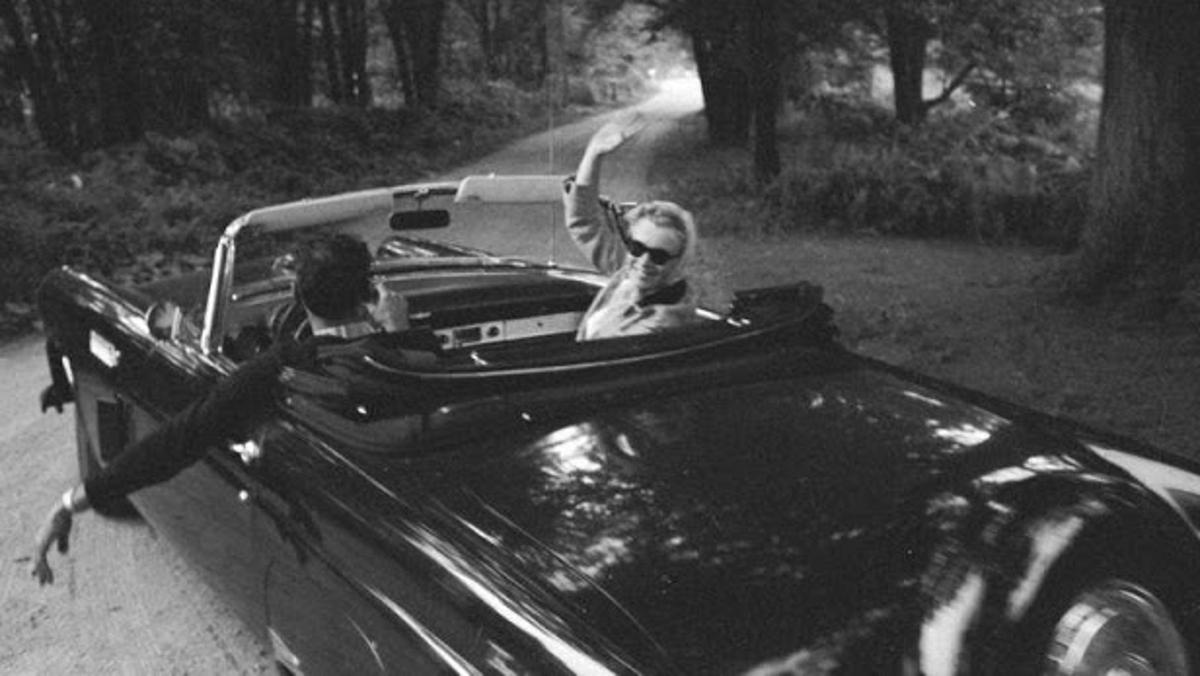 Monroe, Miller y el Thunderbird