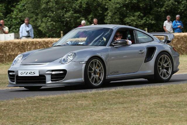 Porsche 911 GT2 RS Edición Matt LeBlanc