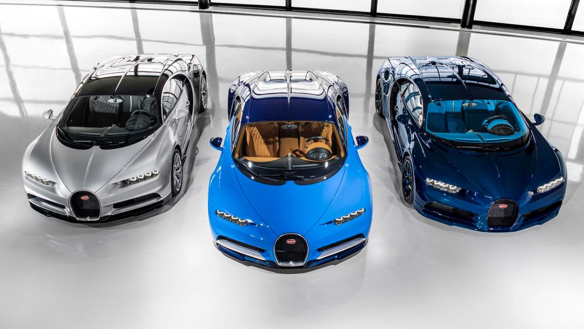 Los primeros Bugatti Chiron dejan la fábrica (I)