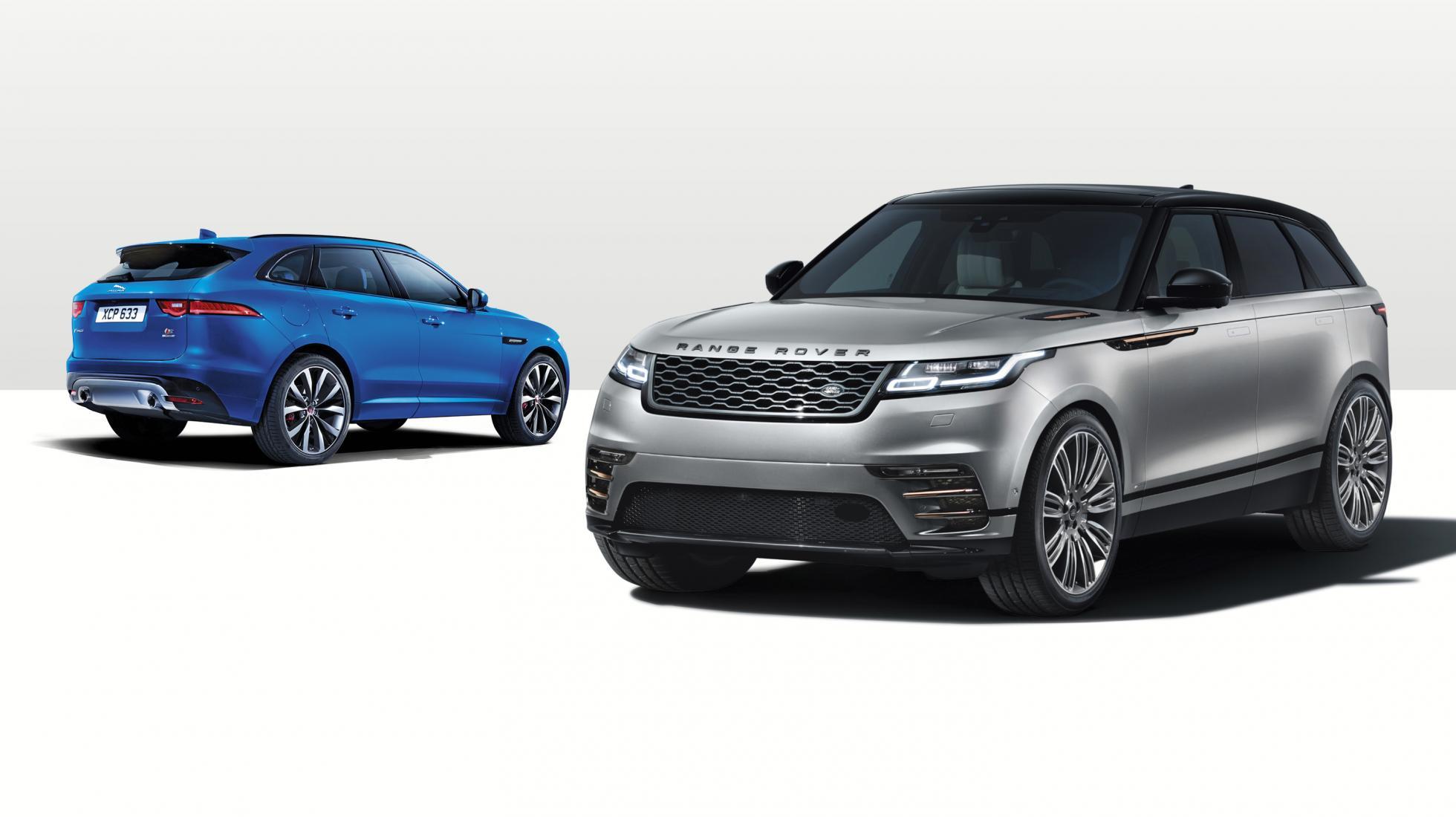 Range Rover Velar Vs. Jaguar F-Pace: ¿en Qué Se