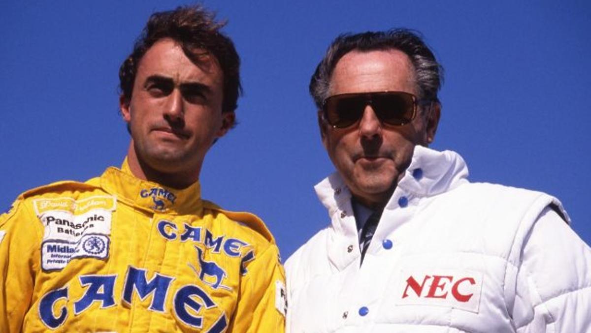 Sir Jack and David Brabham