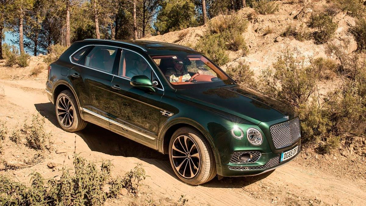 Los SUV más caros: Bentley Bentayga W12 (II)
