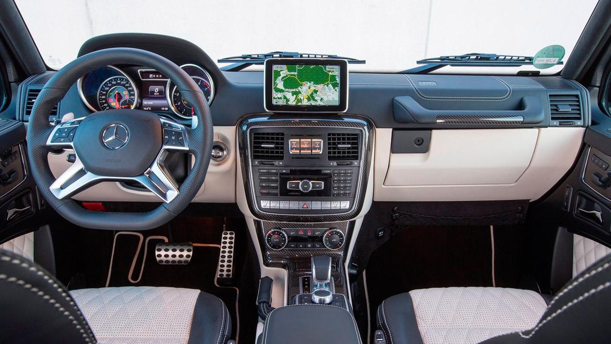 Los SUV más caros: Mercedes Clase G AMG (II)