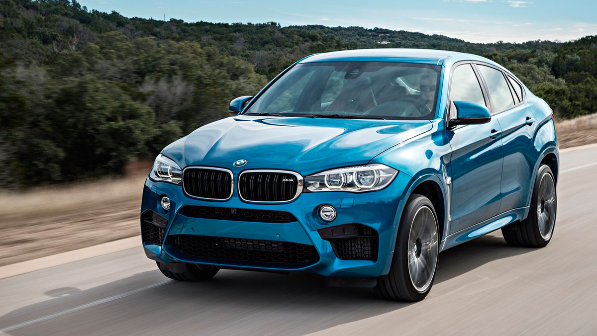 Coches que no salen de la gasolinera: BMW X6 M (II)