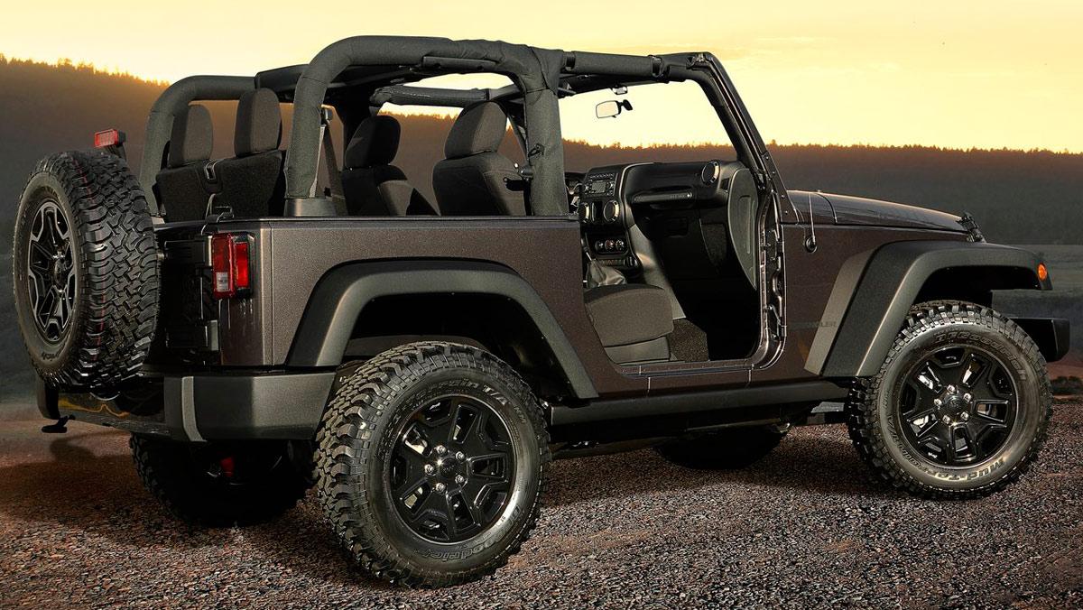 Coches para tener un hijo: Jeep Wrangler (II)