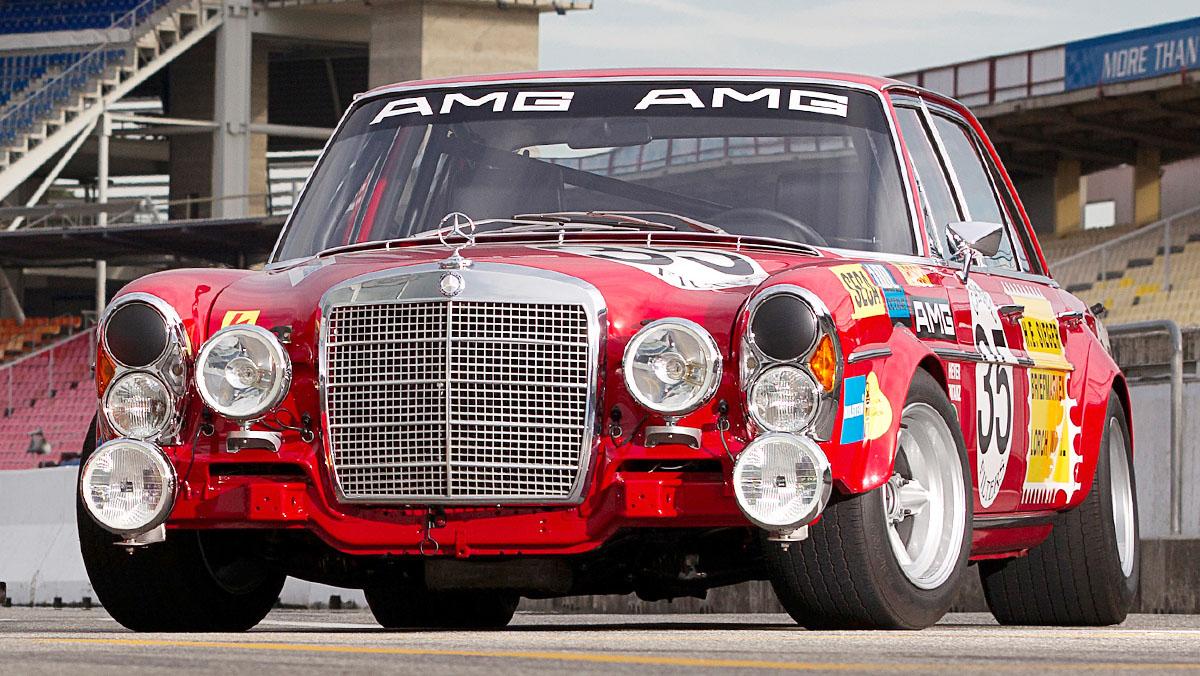 Los mejores AMG de la Historia - Mercedes 300 SEL 6.8 AMG