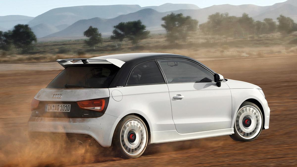 Los mejores Audi de la Historia - Audi A1 Quattro