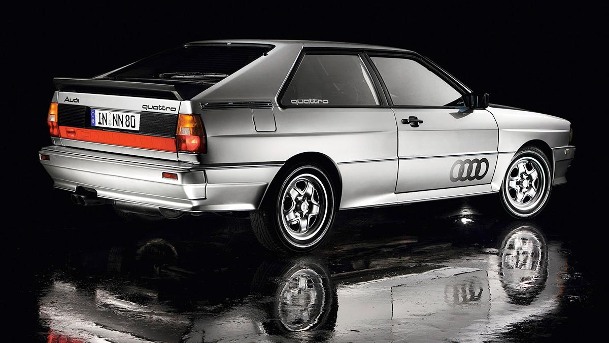 Los mejores Audi de la Historia - Audi Quattro