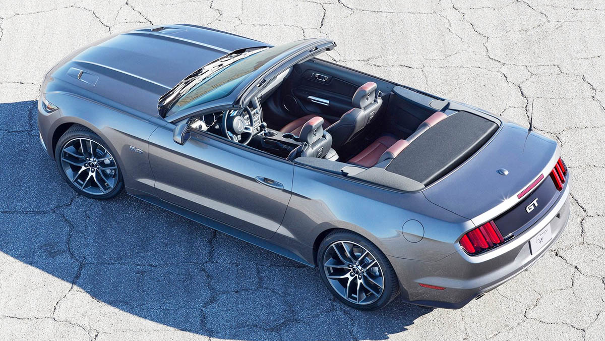 Los mejores cabrios 2017 - Ford Mustang Convertible