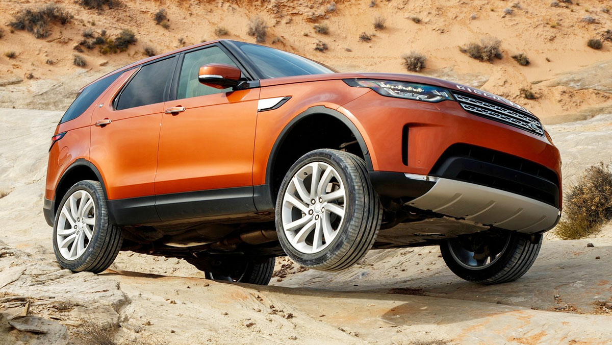 Los mejores todoterrenos 2017 - Land Rover Discovery