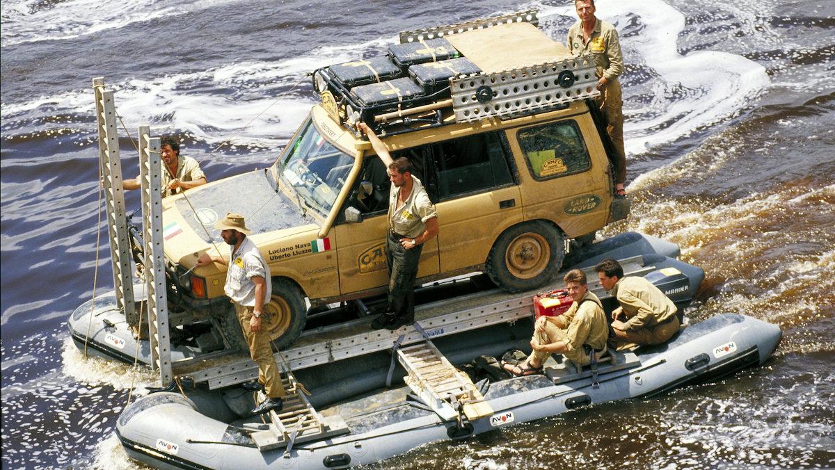 Navegando a lo Camel Trophy