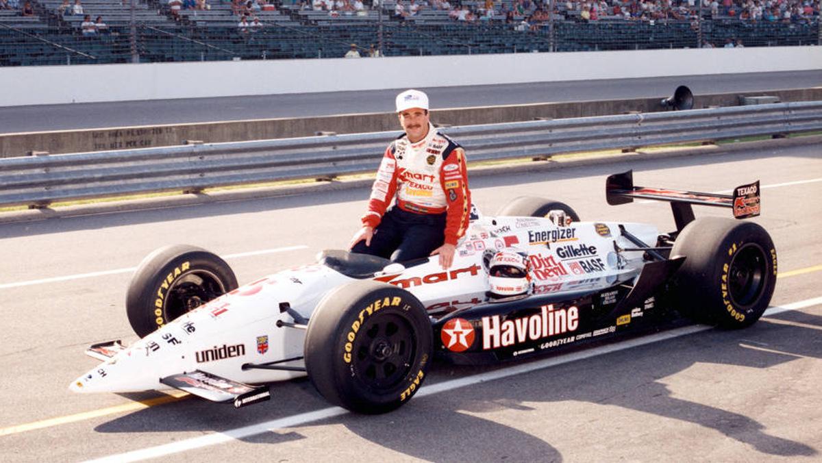 Nigel Mansell en la IndyCar 1993
