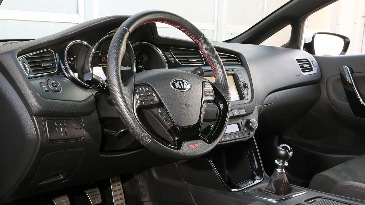 Prueba Kia Proceed GT (interior)