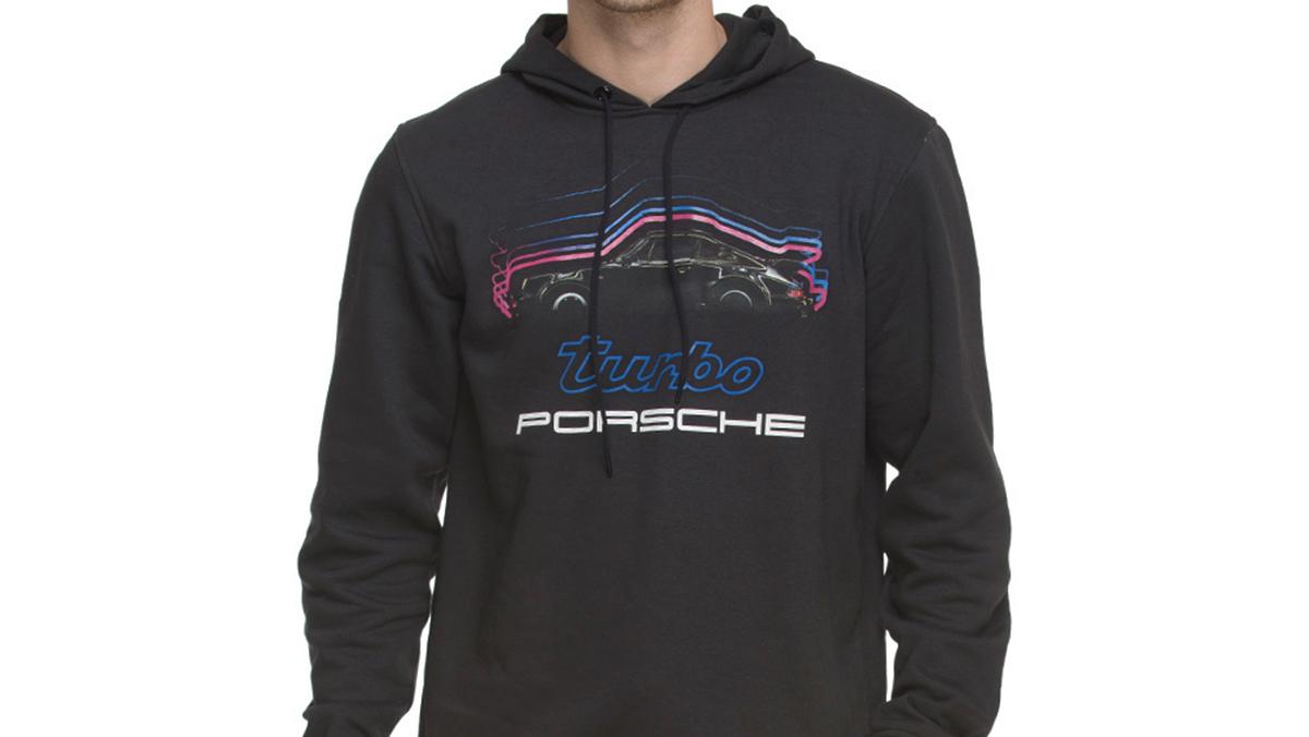 Los 10 mejores regalos para fanáticos de Porsche - Sudadera Adidas Porsche Turbo