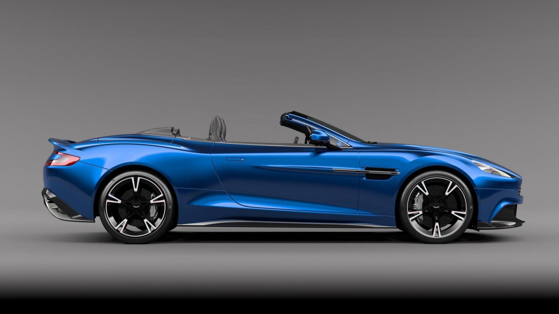 Mejores descapotables: Aston Martin Vanquish S Volante (I)