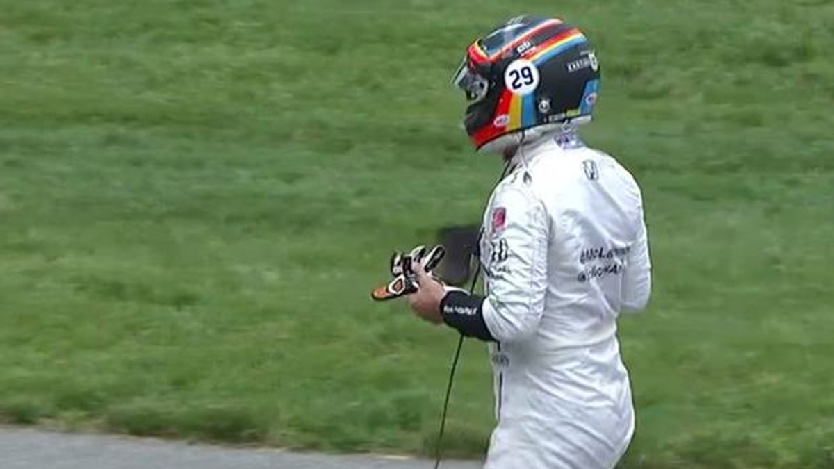 Alonso abandona Indy500