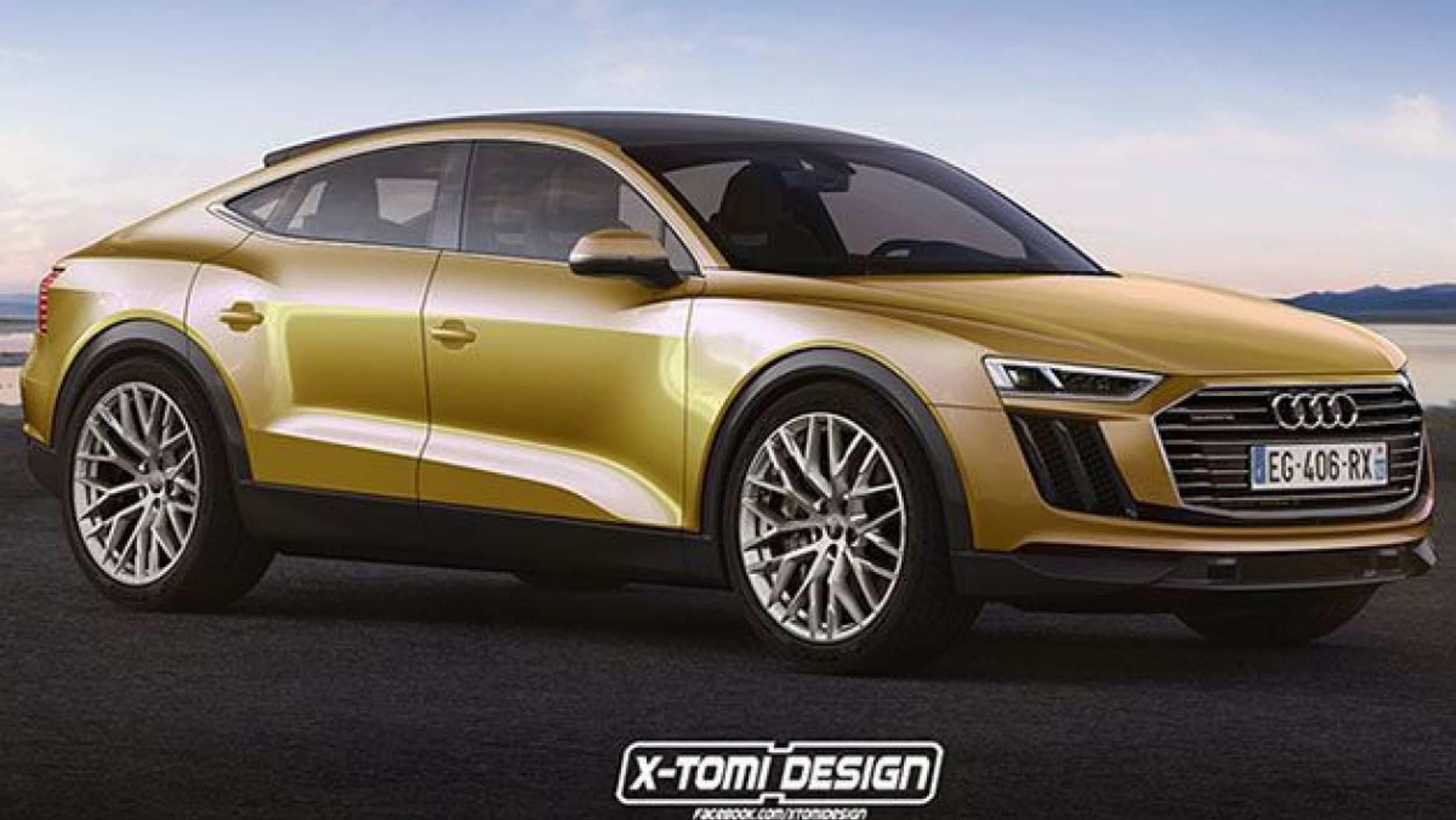 El Audi Q9 Concept ¿Por qué no un crossover coupé