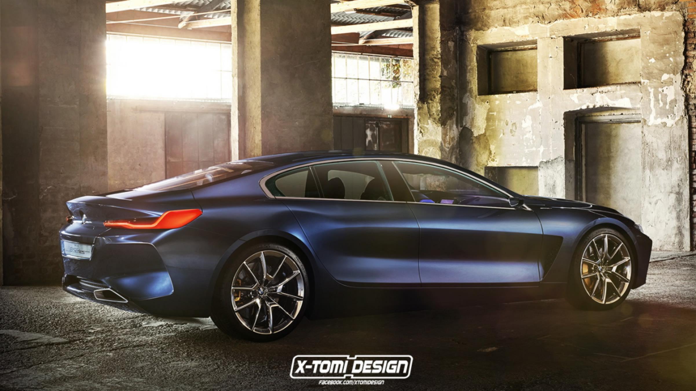 BMW Concept 8 gran coupé