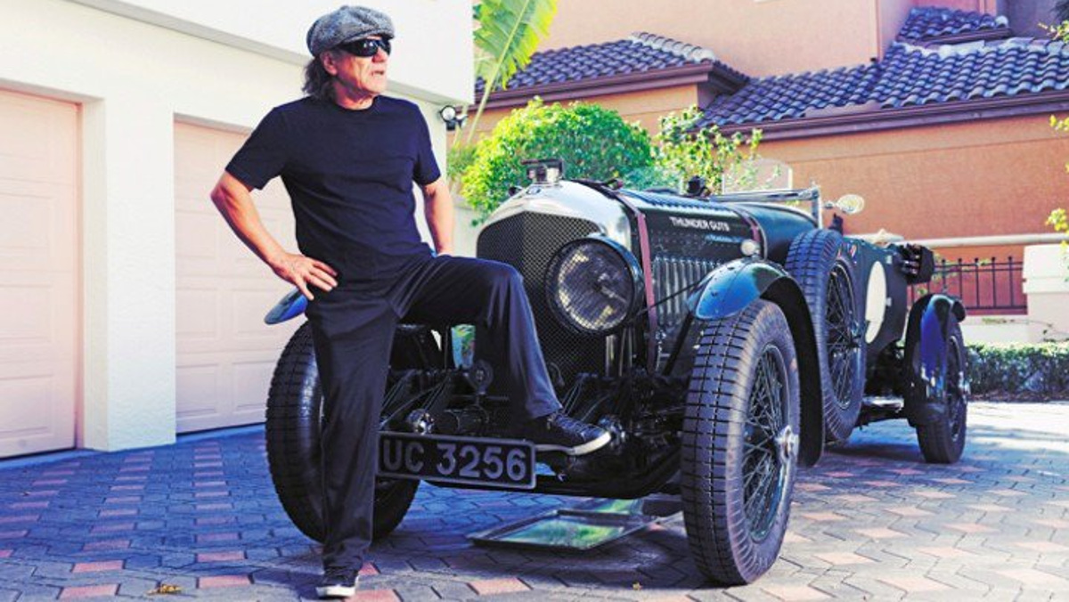 Un Bentley Vanden Plas Le Mans Tourer - THUNDER GUTS de 1928