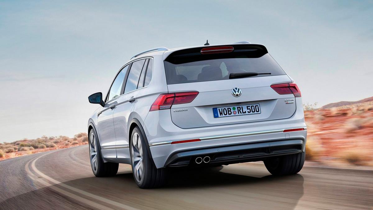 Coches mejores con motor diésel: VW Tiguan (II)