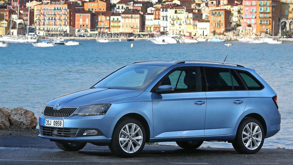 5 coches nuevos por menos de 10.000 euros - Skoda Fabia Combi