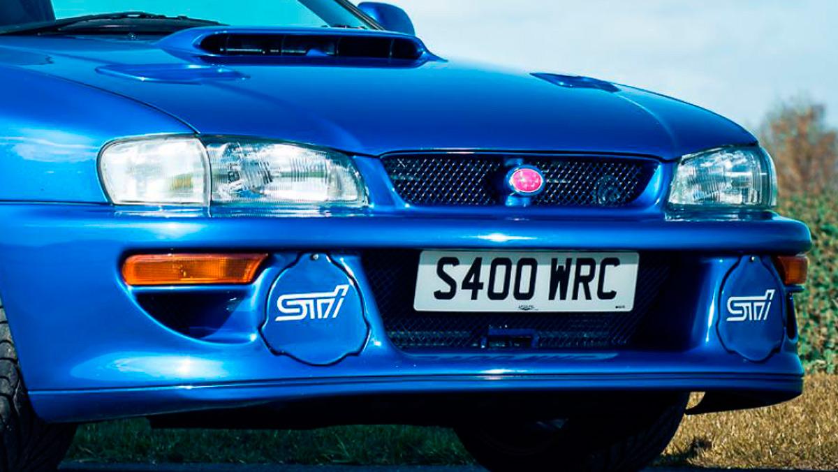 Coches con motor bóxer: Subaru Impreza STI 22B (I)