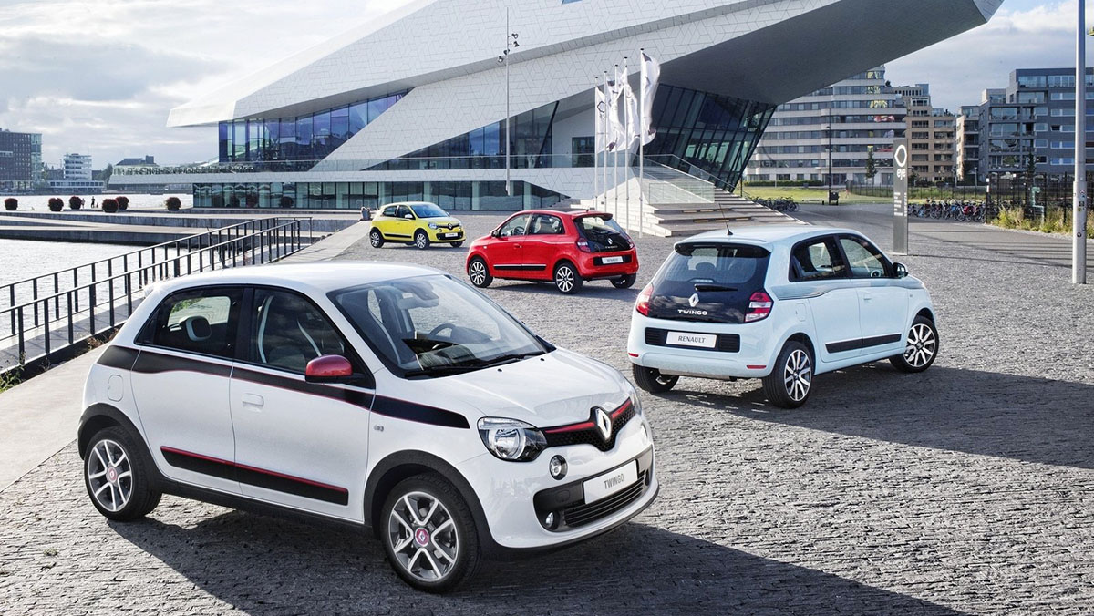 Coches urbanos 2017 - Renault Twingo