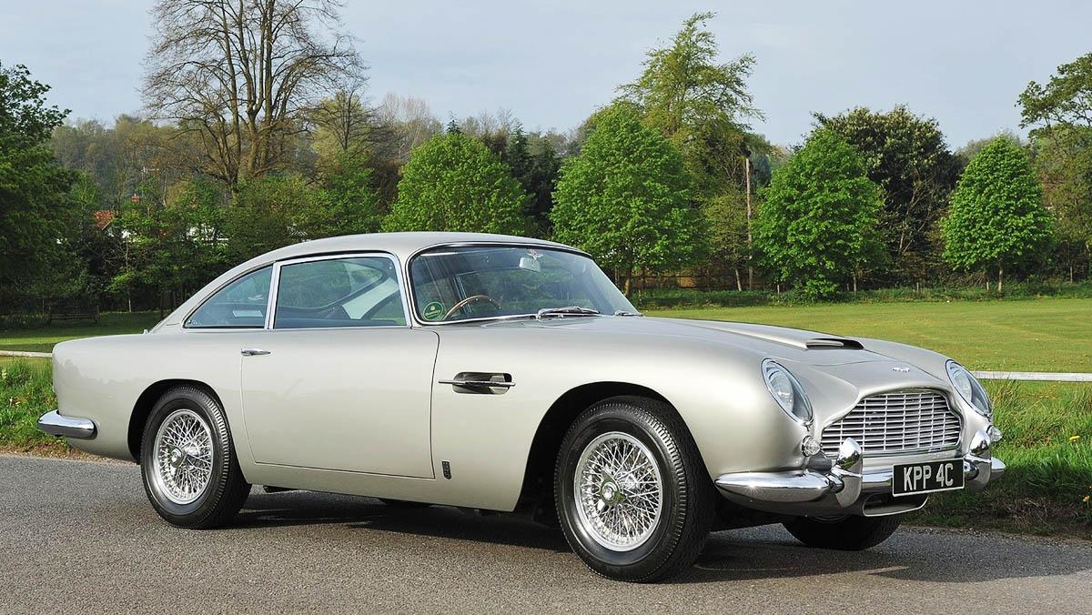 Los deportivos más elegantes de todos los tiempos - Aston Martin DB5