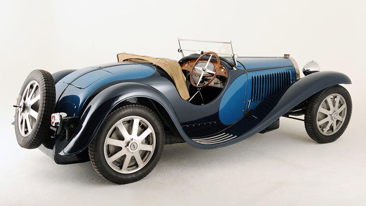 Los deportivos más elegantes de todos los tiempos - Bugatti Type 55
