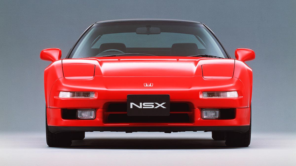 Los deportivos más elegantes de todos los tiempos - Honda NSX