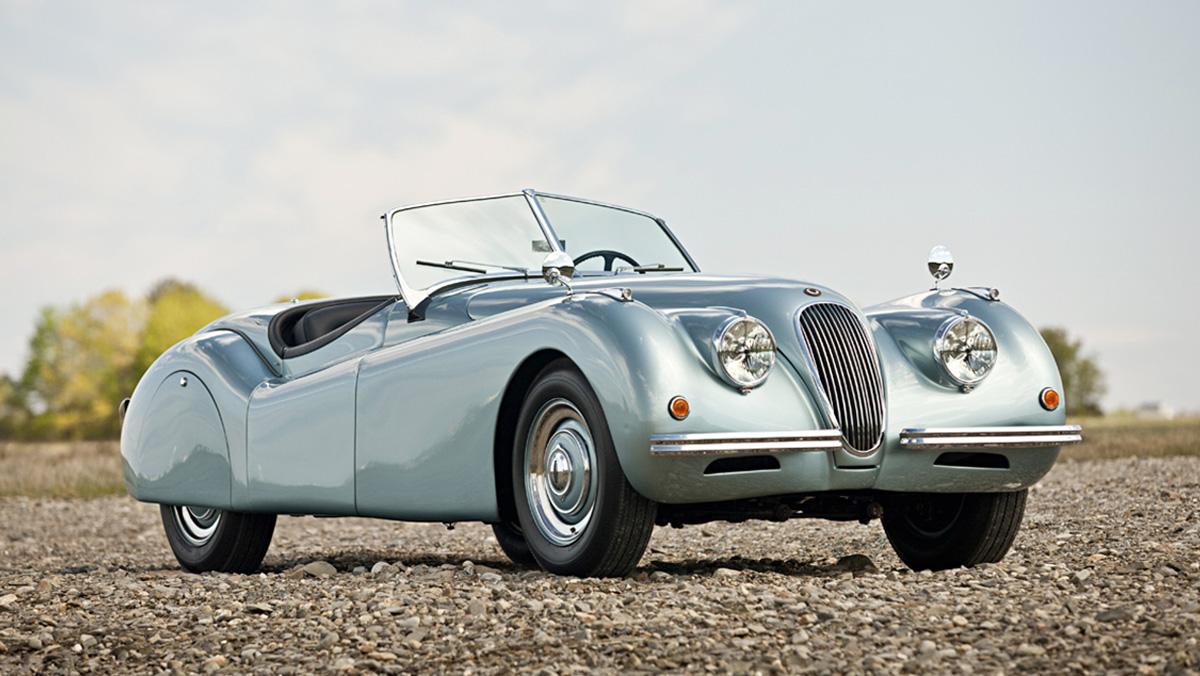 Los deportivos más elegantes de todos los tiempos - Jaguar XK120