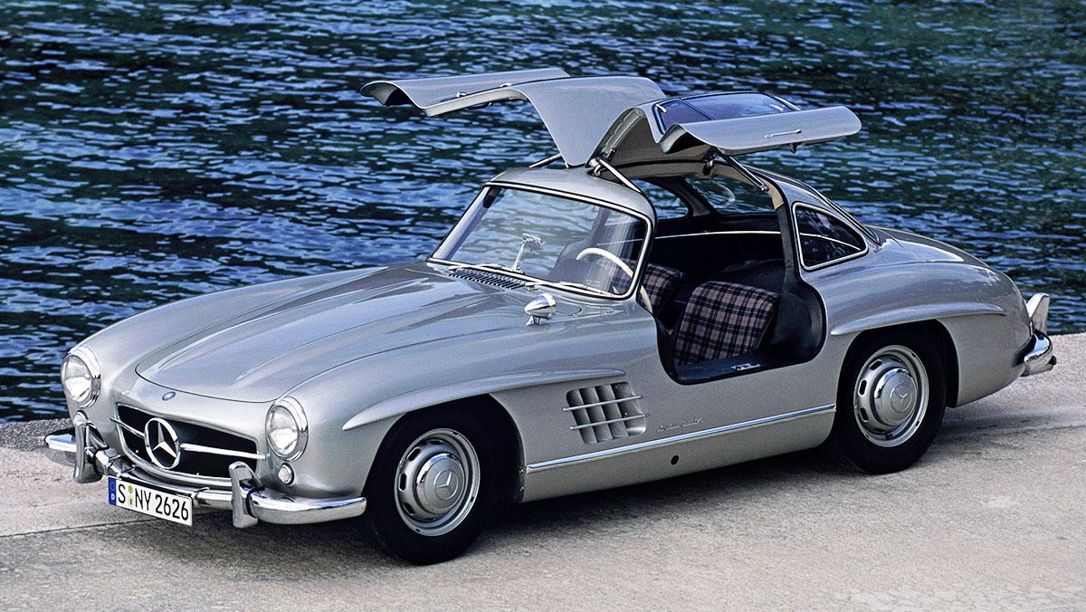 Los deportivos más elegantes de todos los tiempos - Mercedes 300 SL