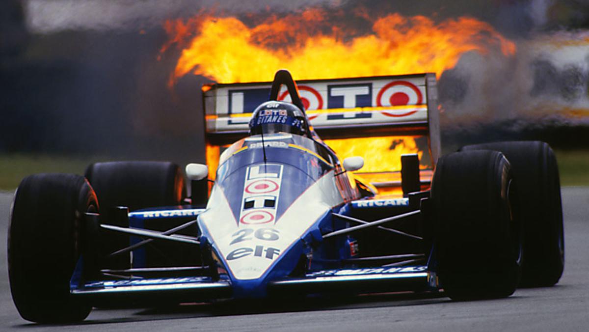 F1 firing