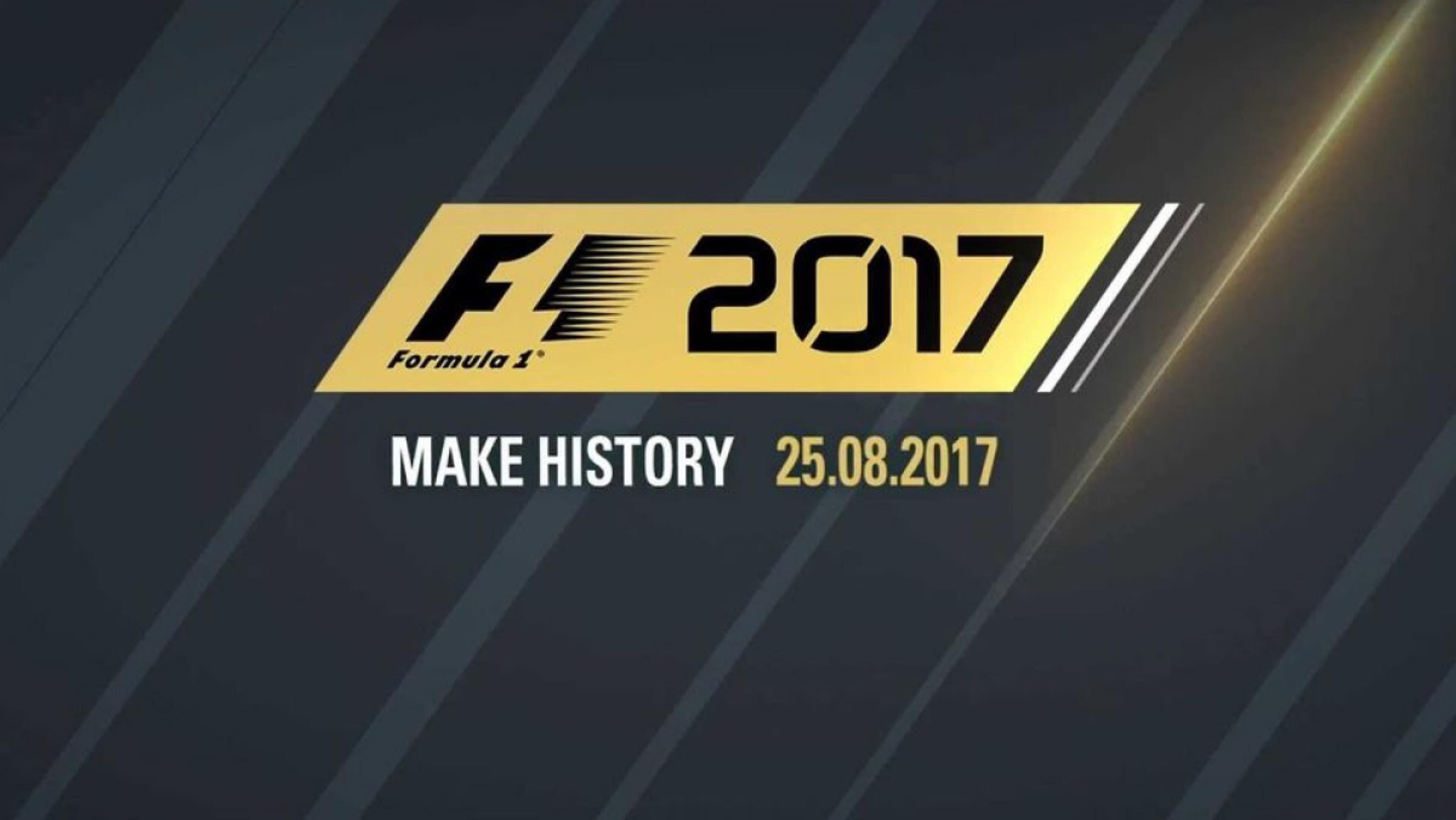 Lanzamiento videojuego F1 2017