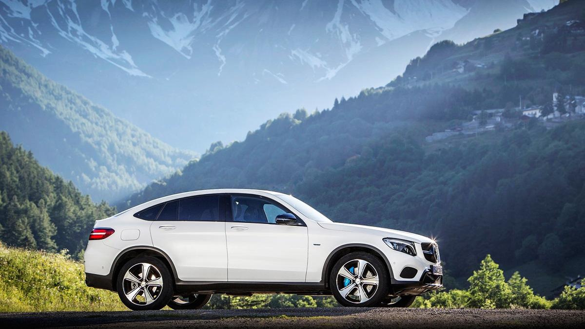 Los mayores rivales del BMW X4 - Mercedes GLC Coupé
