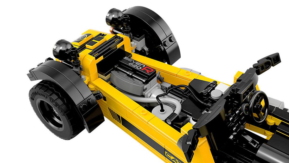 Los mejores coches de Lego por menos de 100 euros - Caterham 620R