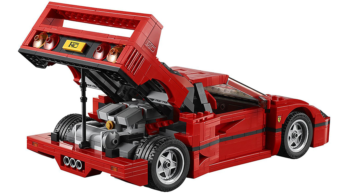 Los mejores coches de Lego por menos de 100 euros - Ferrari F40