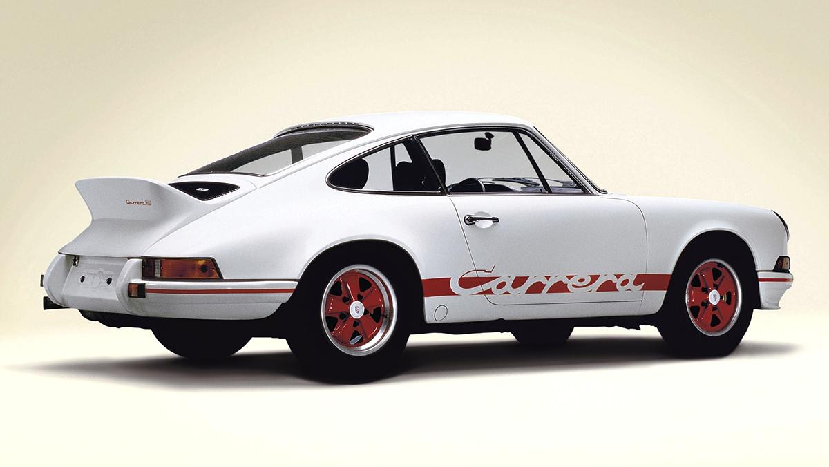 Los mejores Porsche de la Historia - Porsche 911 Carrera RS (1973)