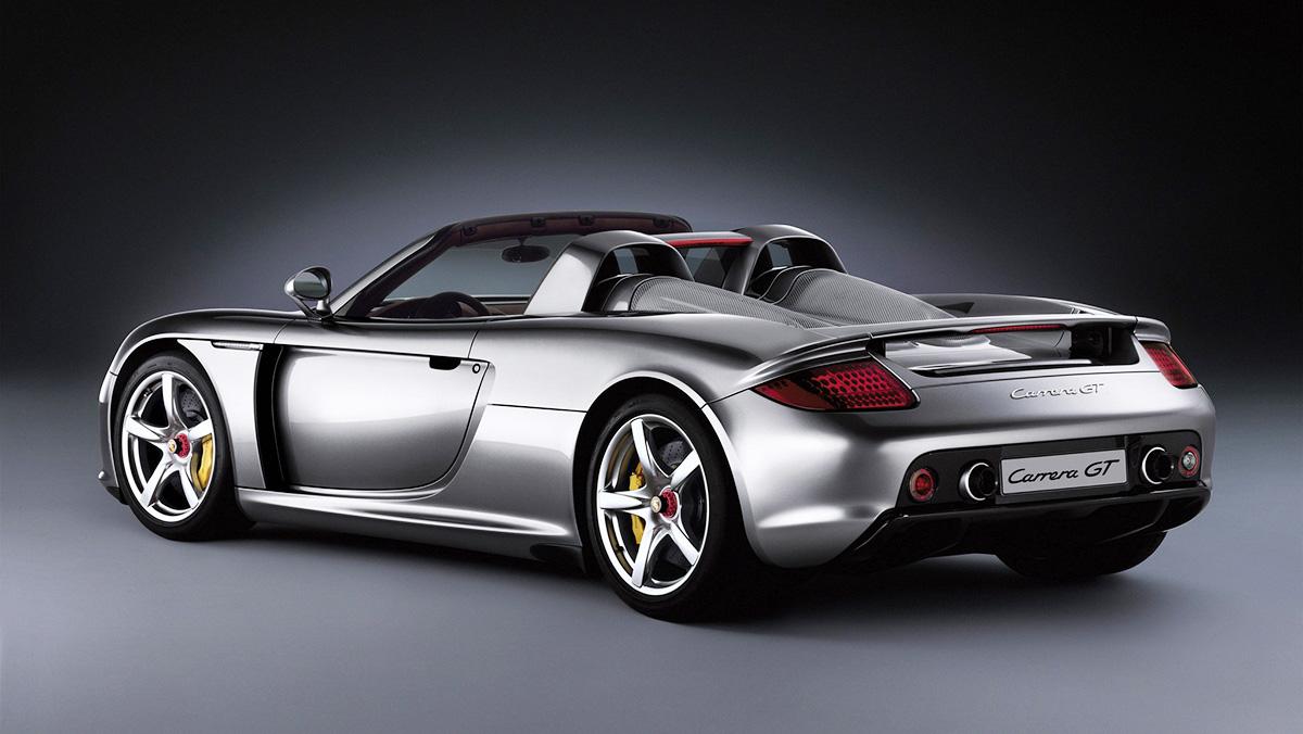 Los mejores Porsche de la Historia - Porsche Carrera GT (2003)