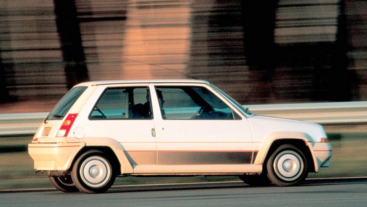Los mejores Renault de la Historia - Renault Supercinco GT Turbo