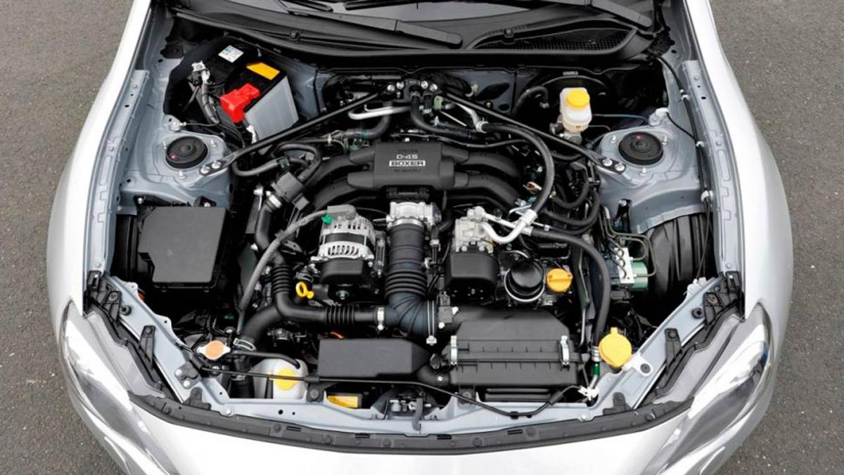 Motor Subaru BRZ (II)