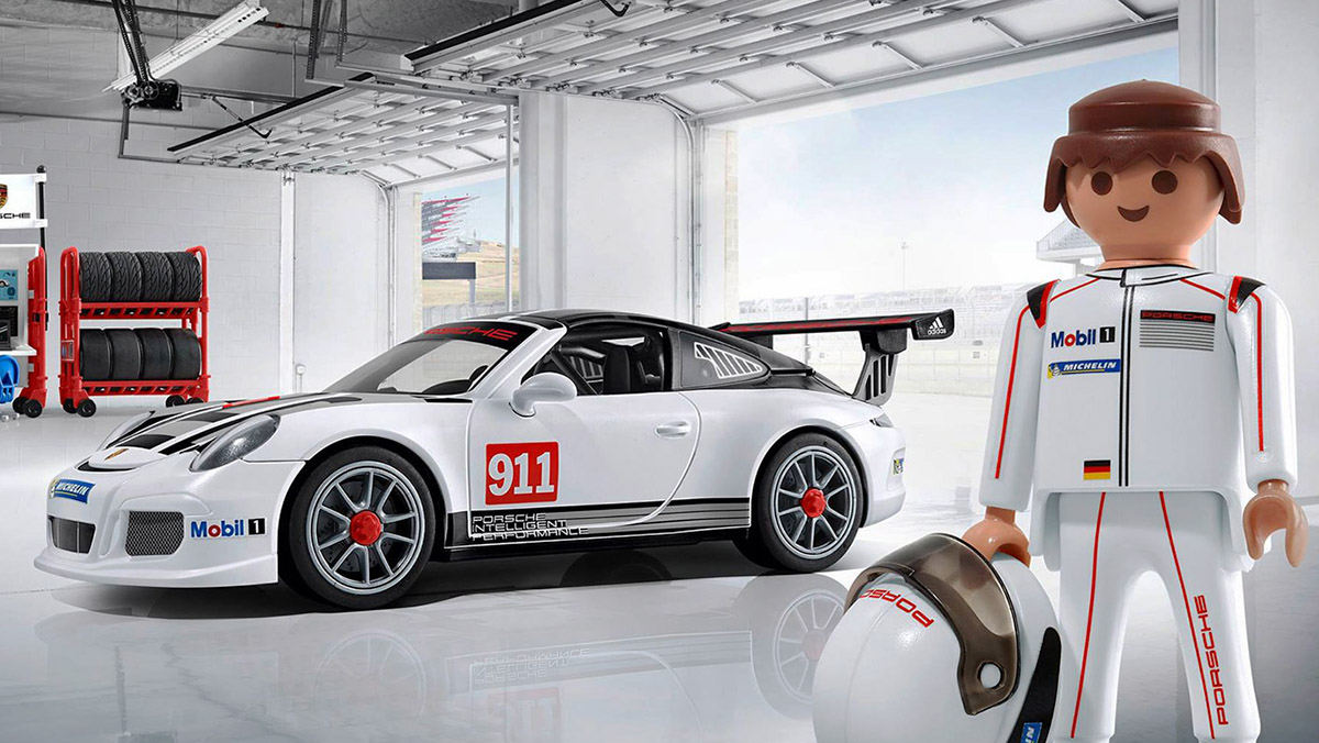 necesitas este porsche 911 gt3 cup de playmobil y lo. Black Bedroom Furniture Sets. Home Design Ideas