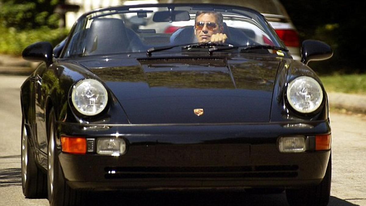 Porsche Carrera George Clooney