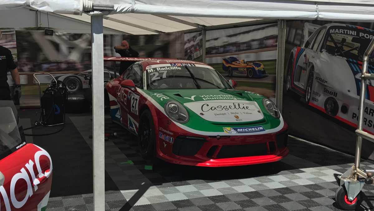 Porsche Supercup IDL Racing