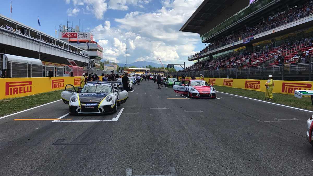 Porsche Supercup parrilla