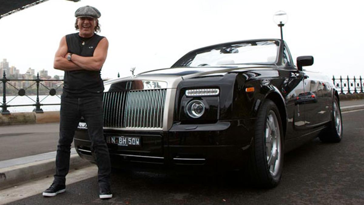 El Rolls Phantom del amigo Brian
