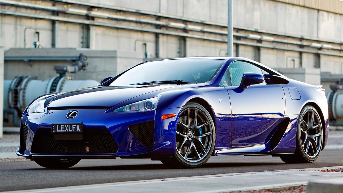 Superdeportivos: Lexus LFA (II)
