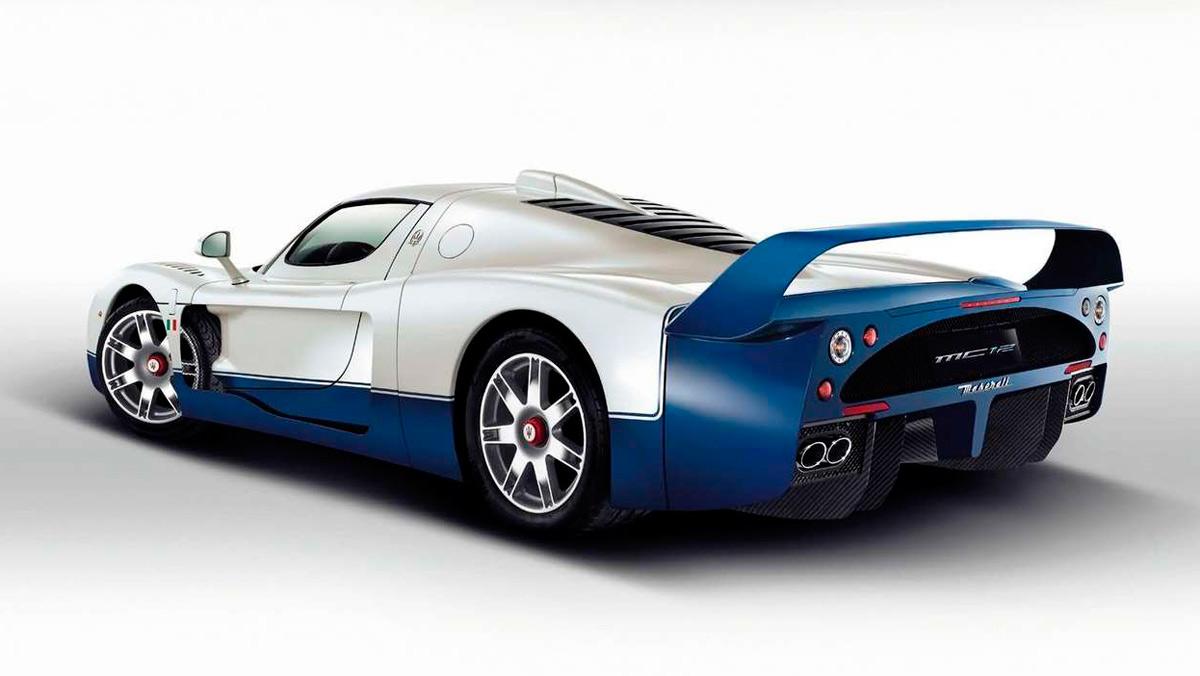 Superdeportivos: Maserati MC12 (II)